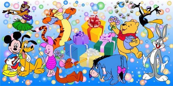 Про вечер, поздравления с днем рождения мальчику открытки с героями мультфильмов