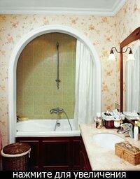 in the style of Provence: Ванная в стиле прованс.