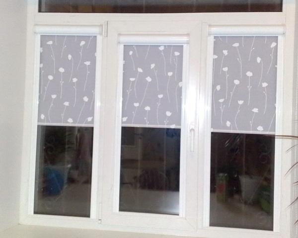 шторы и жалюзи на одном окне фото