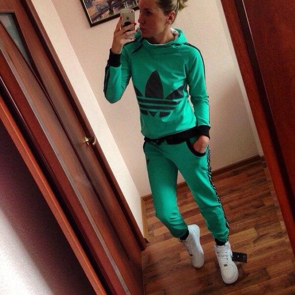 Модные Женские Спортивные Костюмы 2015 Доставка
