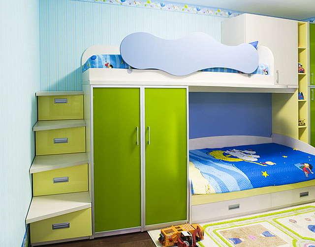Детские двухуровневые кровати фото