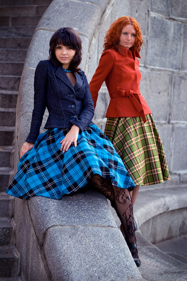 Как сшить юбку до колен