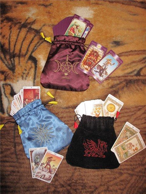 Как сшить мешочки для карт таро