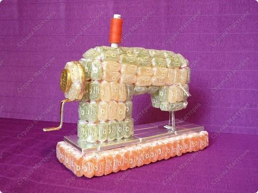Швейная машинка своими руками из конфет