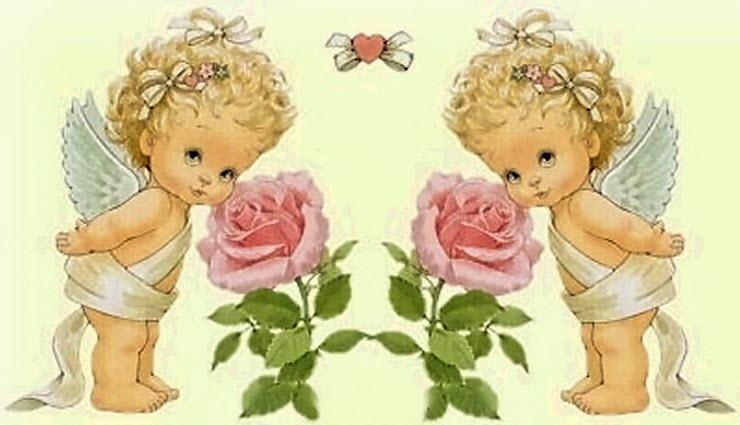 Поздравления с днем рождения двойняшек девочек открытка