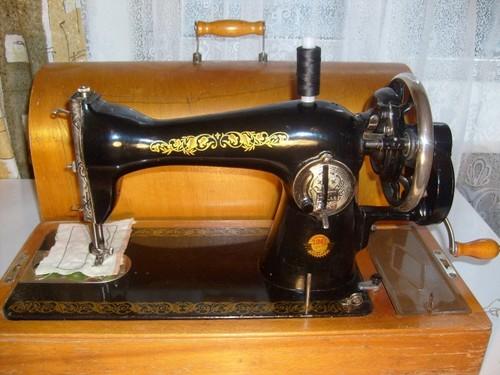 Как шить на старой швейной машинке ручной