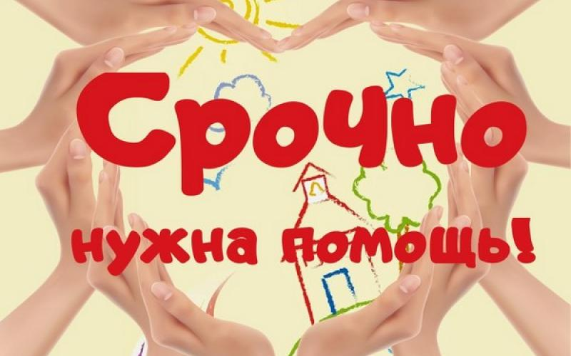 ГРИНЕВА КСЕНИЯ 2,6 годика. ДЦП - Страница 19 164949_800x500_srochno_nuzhna_pomoshch_1ae68a3e1