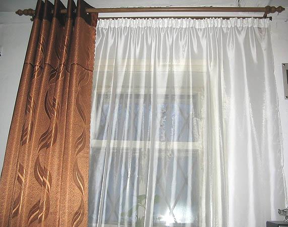 """В общем наконец-то сшила шторы в зал, 3 окна, соответственно три пары тюль+теневая. .  Рабочее название модели  """"голь..."""