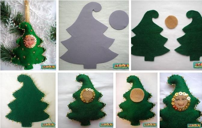Как сшить елку своими руками фото