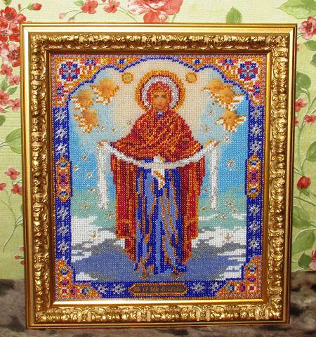 Радуга бисера вышивка бисером иконы официальный