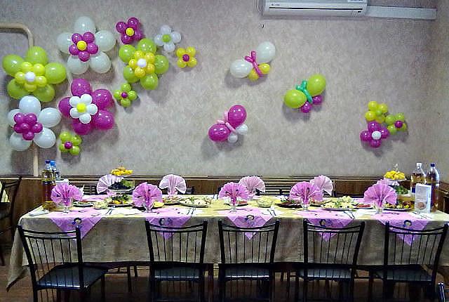 дружеское фото цветов из шаров на стену домик как десятки
