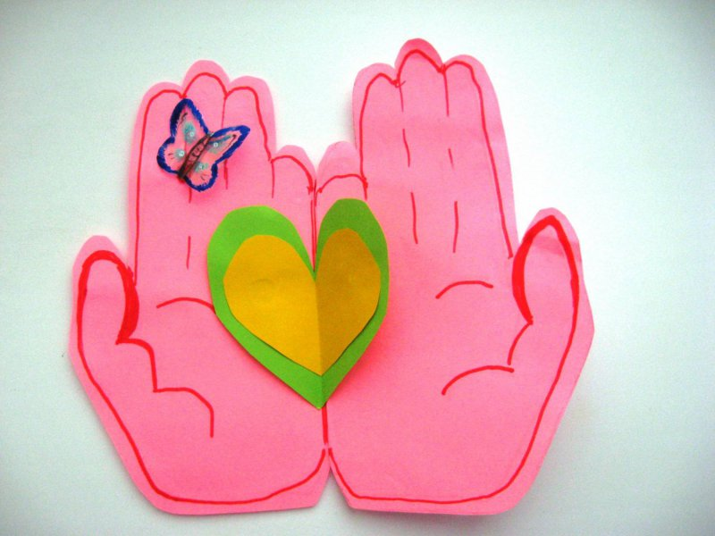 Открытки с днем семьи своими руками