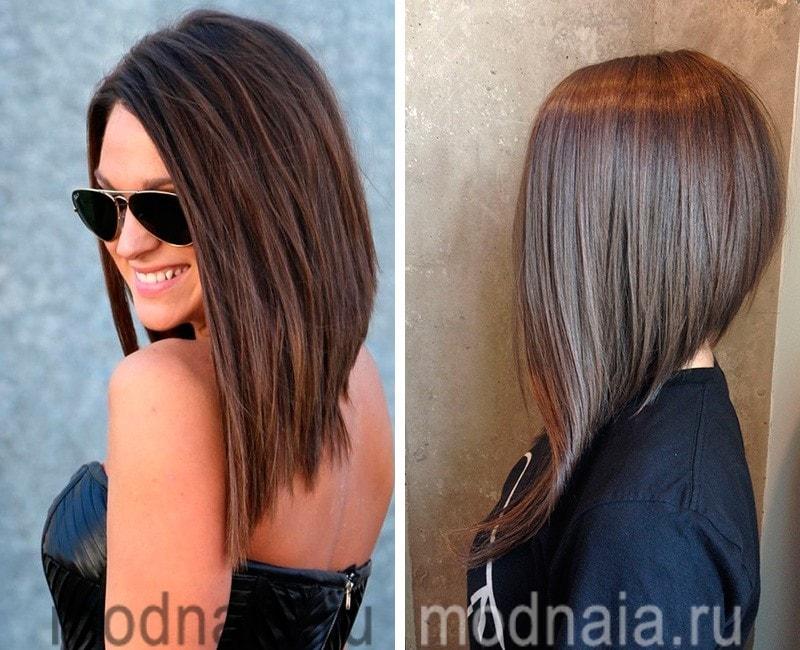 Модный прически на средней длинны волосы