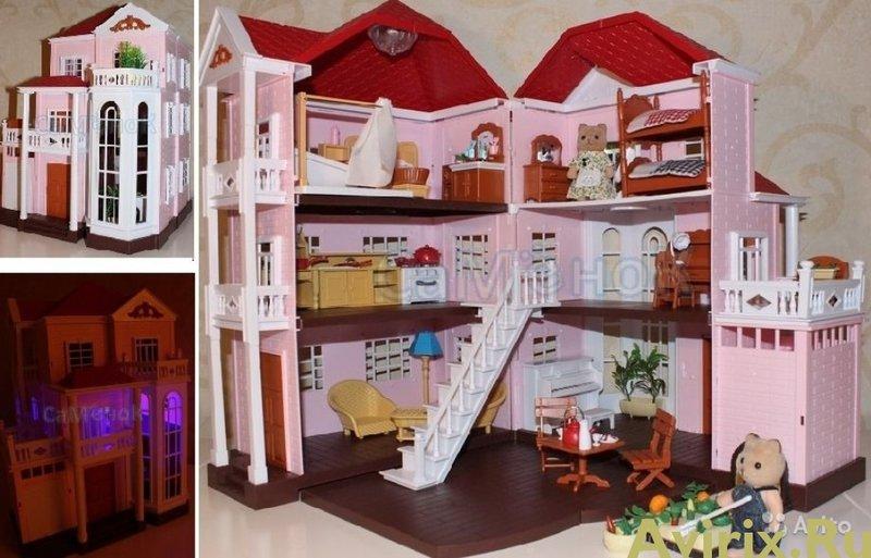 Кукольный домик хэппи фэмили