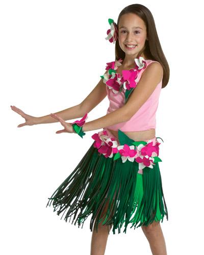 Из чего сделать гавайскую юбку своими руками
