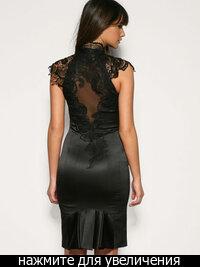 Шикарное платье от Karen Millen,размер UK 14,черного цвета.