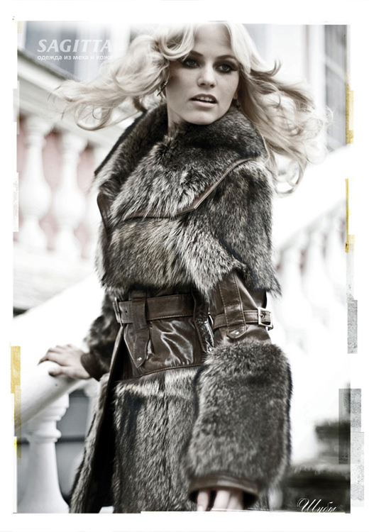 Куртка из меха и кожи - шьем своими руками.