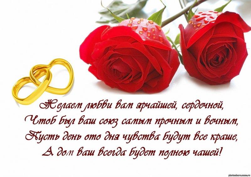 Поздравления с бракосочетанием смс короткие