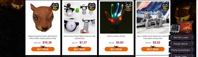 GearBest: Грандиозная распродажа ко дню всех Святых от Gearbest