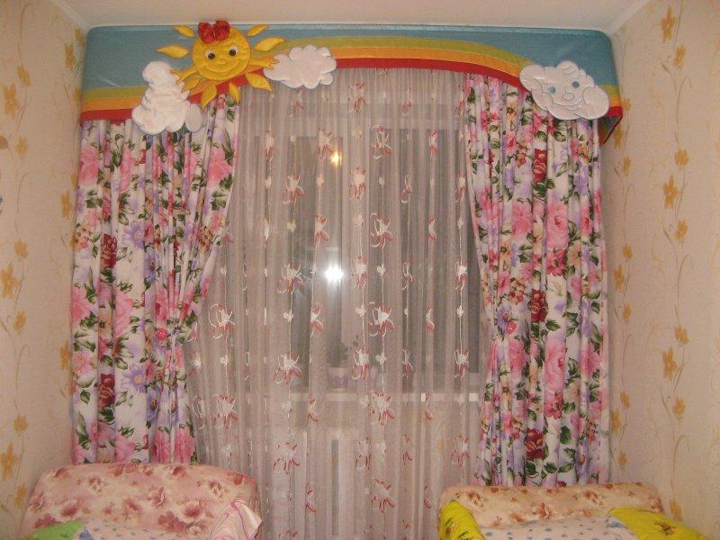 Сшить шторы для детской своими руками - Vingtsunspb.ru
