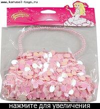 83016 Набор 68922 (040) сумочка со стразами маленькая (Принцесса).