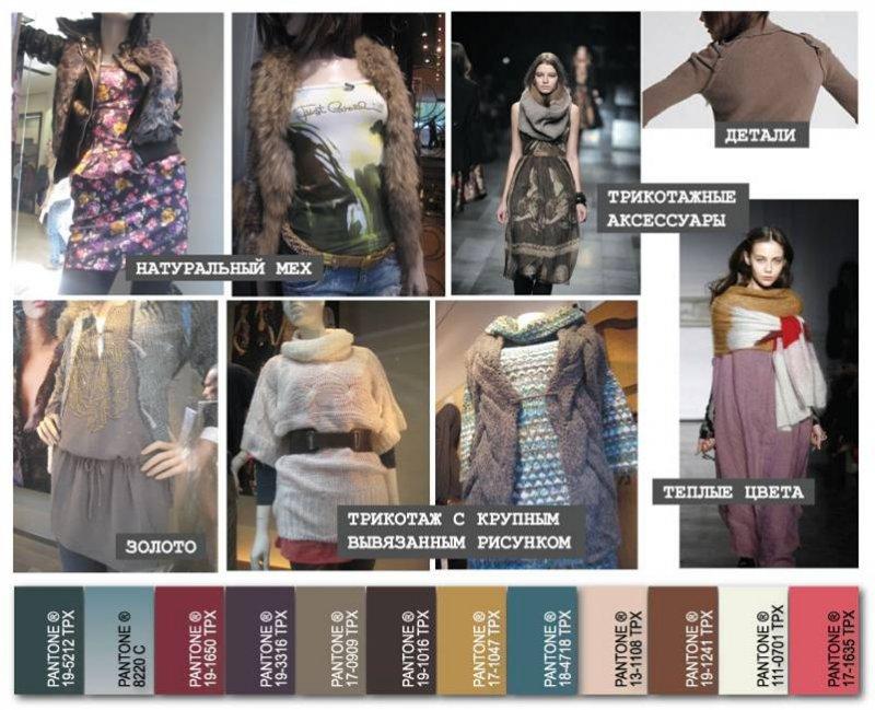 Мех, трикотаж, орнаменты.  Одной из популярных модных тенденций остаются этнические мотивы.  На этот раз стиль...
