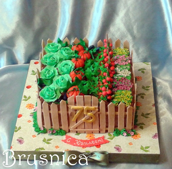 как всегда: бабушке торт огород мк домов