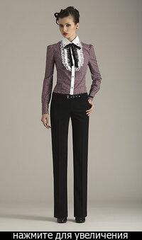 Модные брюки весны-лета 2009 Брюки в галереях: построение брюк, шьем.