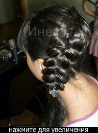 Плетение волос для редких волос
