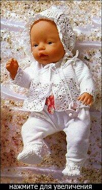 Для тех, кто любит шить - выкройки одежды для куклы Беби Бон и других.