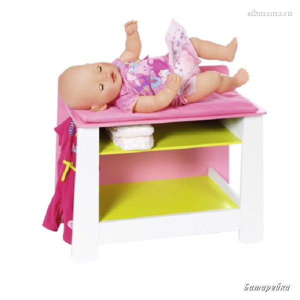 Пеленальный столик baby born