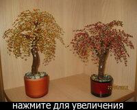 Будет радовать вас и украшать ваш дом.  Декоративное дерево выполненное из бисера.  Рекомендации по уходу:Не ронять.