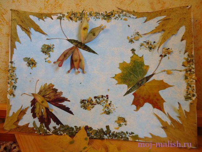 Поделки из листья своими руками