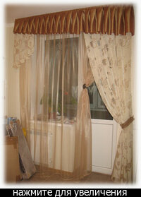 схемы пошива кухонных штор.