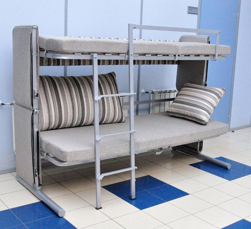 Двухъярусная Кровать Диван Цена В Москве