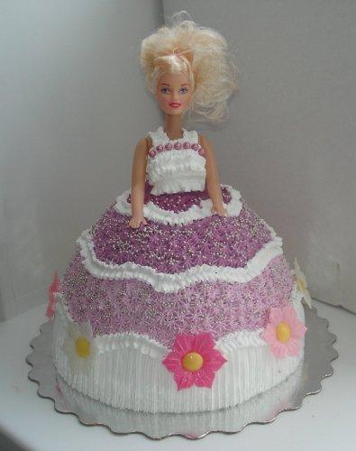 Торт барби кремовый