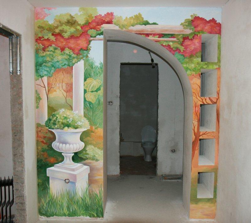 Дизайн арок в коридоре фото