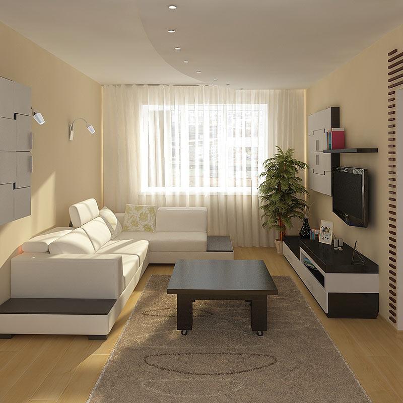 Красивый и недорогой дизайн комнаты 91